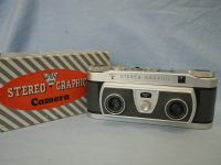 '  NICE ' Wray Stereo Graphic Cased Stereo Camera =MINT=COMPLETE OUTFIT=RARE=NICE= £129.99